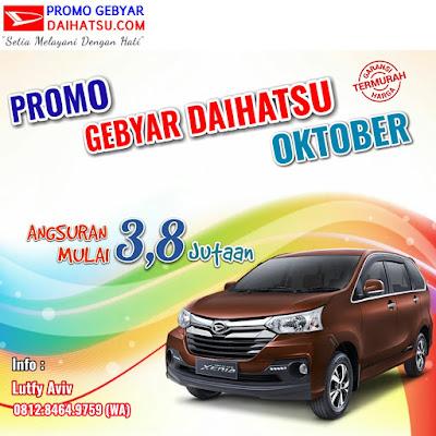 Promo Daihatsu Xenia di bulan Oktober 2017 Jakarta Timur
