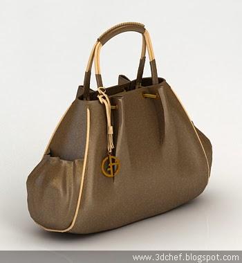 handbag 3d model free