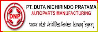 Lowongan Kerja Operator Produksi PT DUTA NICHIRINDO PRATAMA Tangerang