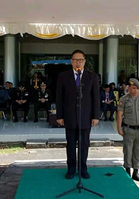 Sekda Minsel Denny Kaawoan M.Si, Jadi Irup Di Peringatan Harkitnas