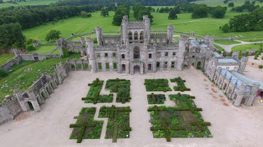 Lowther Castle and Gardens: bellos jardines para románticas ruinas