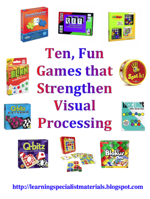 visual processing games