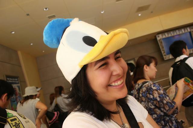Donald Duck Hat Souvenir Tokyo Disneyland