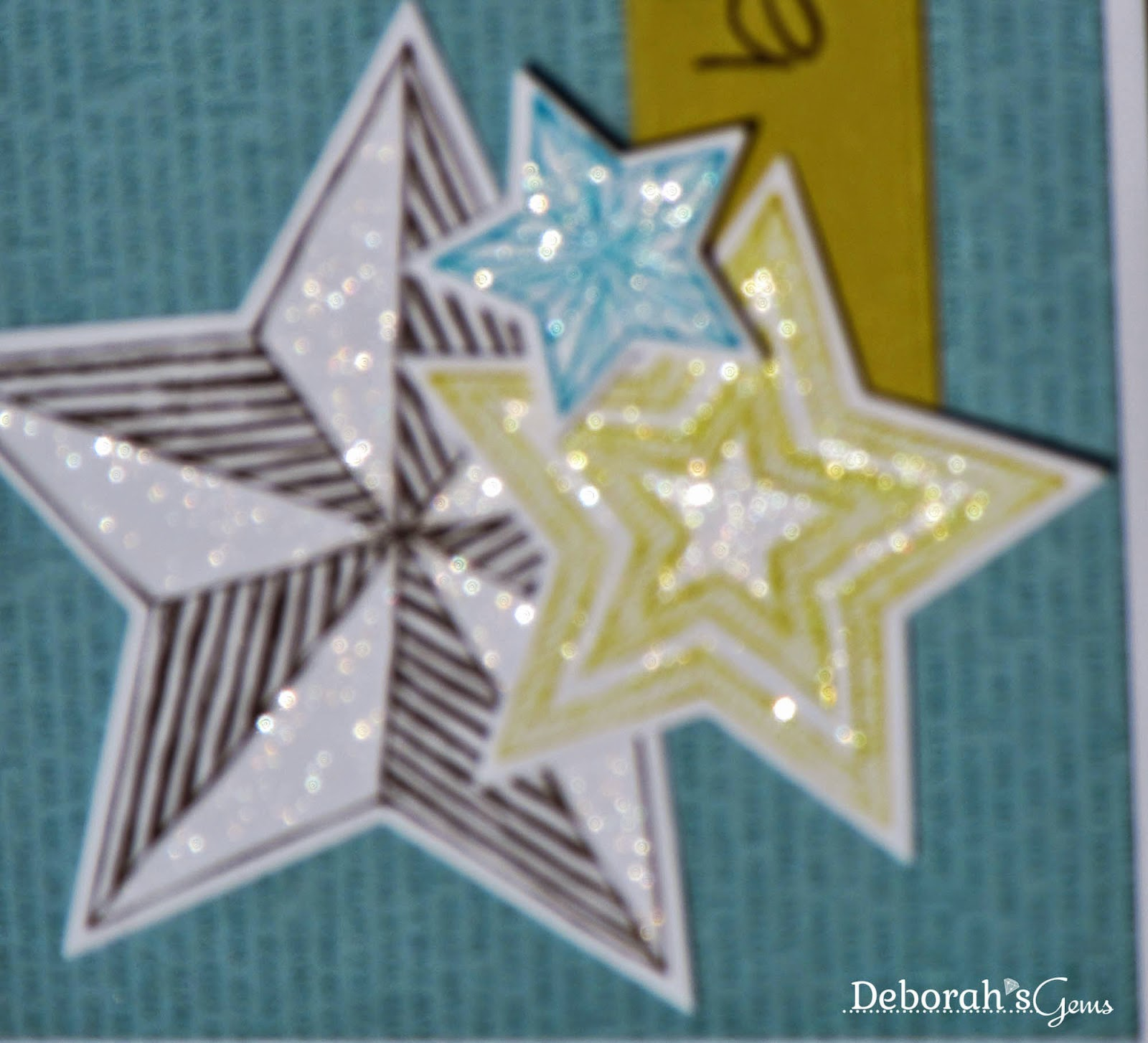 Stars detail - photo by Deborah Frings - Deborah's Gems