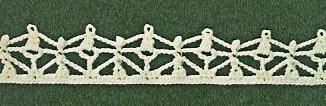 Patron #1673: Puntilla a Crochet
