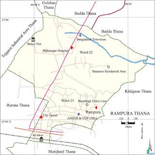 Rampura Banasree Postal Code