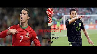 Portugal vs México en Copa Confederaciones Rusia 2017
