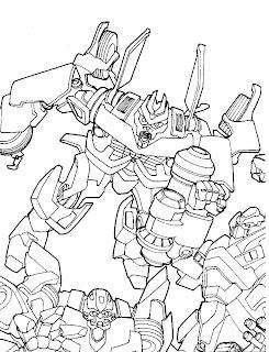 Pintar E Colorir Desenhos Do Transformers