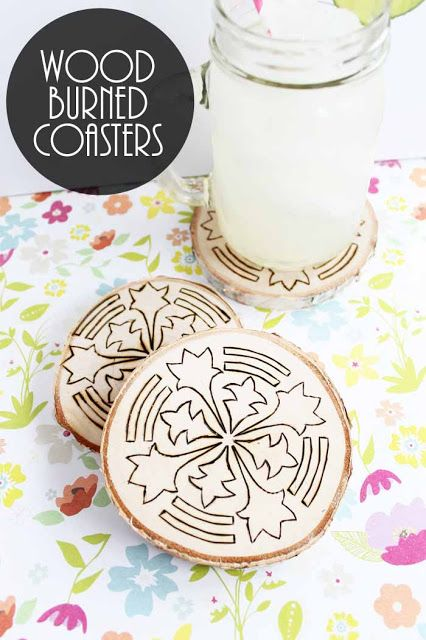 wood-burning-ideas-coasters