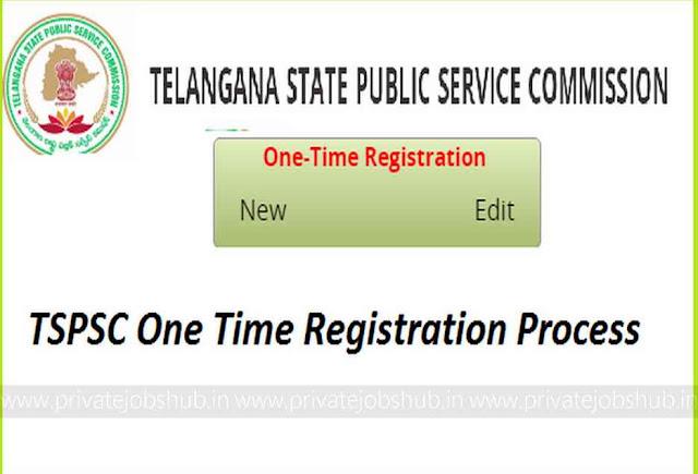 TSPSC One Time Registration