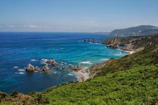 Acantilados, Loiba, el mejor banco del mundo, océano, atlántico, costa gallega, Munimara,