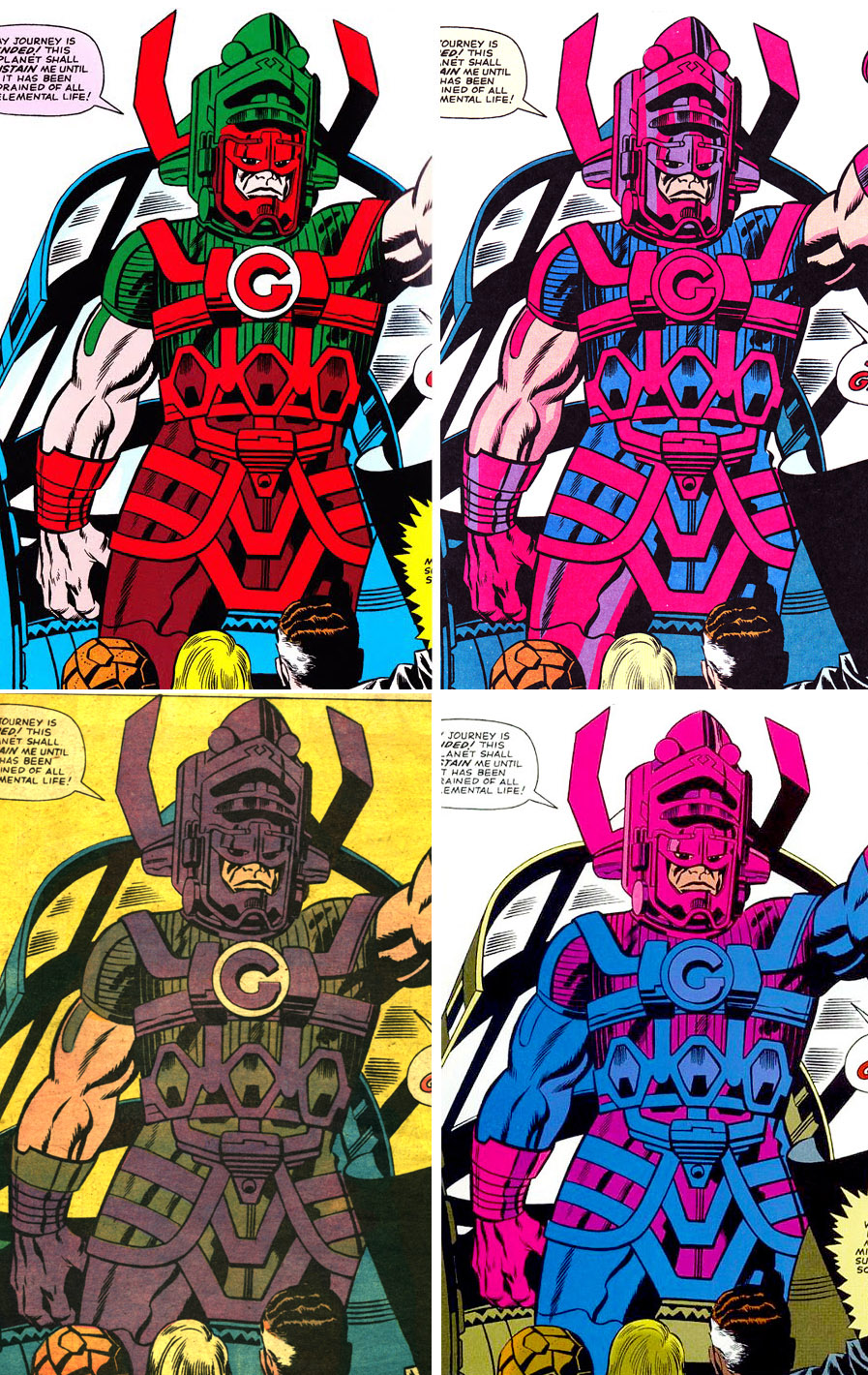 The Dork Review Rob S Room A Plethora Of Galactus Part 2