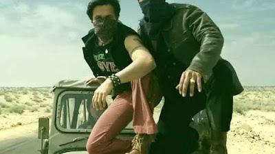 अजय देवगन और इमरान हाशमी फिल्म बादशाहो के एक सीन में
