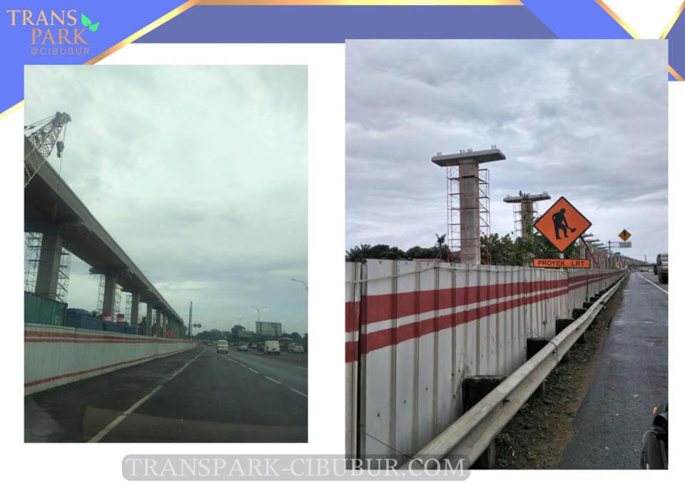 Progress Pembangunan LRT Cibubur