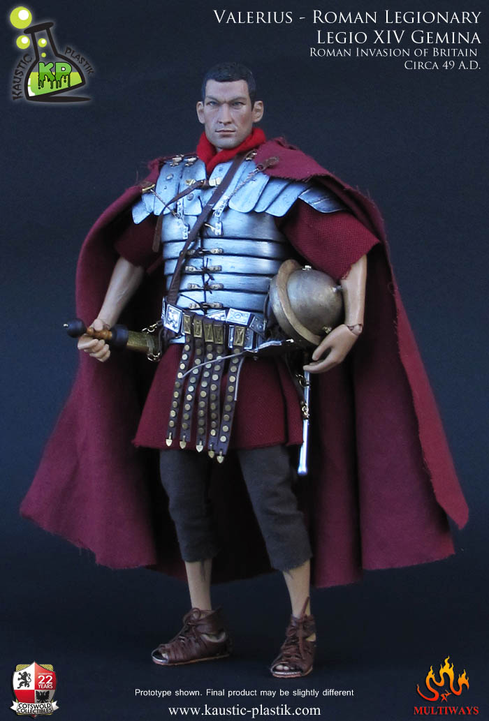 Toyhaven Kaustic Plastik Roman Legionary Legio Xiv Gemina