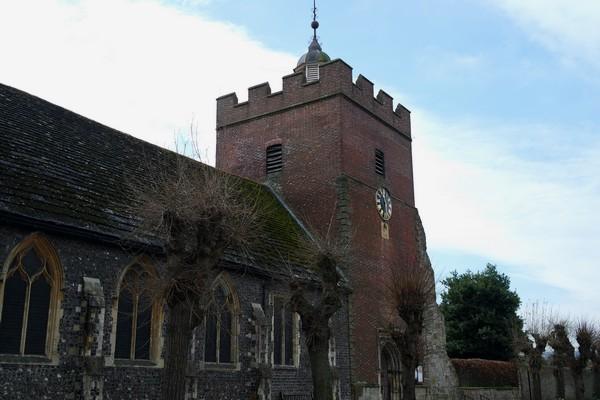 lewes sussex trinity church