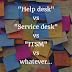 IT Help Desk vs. Service Desk vs. ITSM - what's different