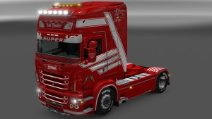 Scania RJL Red Monster Skin by Dragan007
