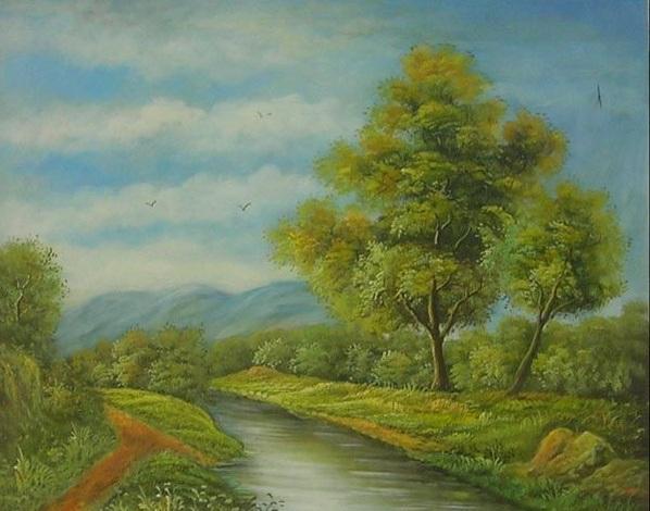 LArte accessibileArredare con i Dipinti a Olio Paesaggi e Panorami Dipinti a olio per