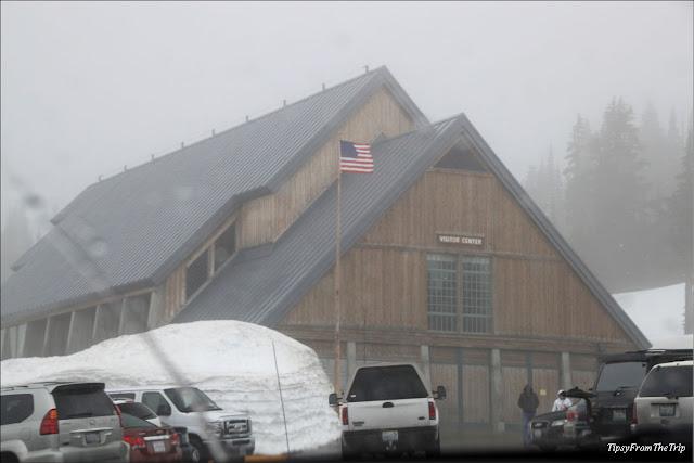 Visitor Center, Paradise, Mt. Rainier National Park, WA