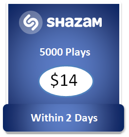 5000 buy Shazam Plays