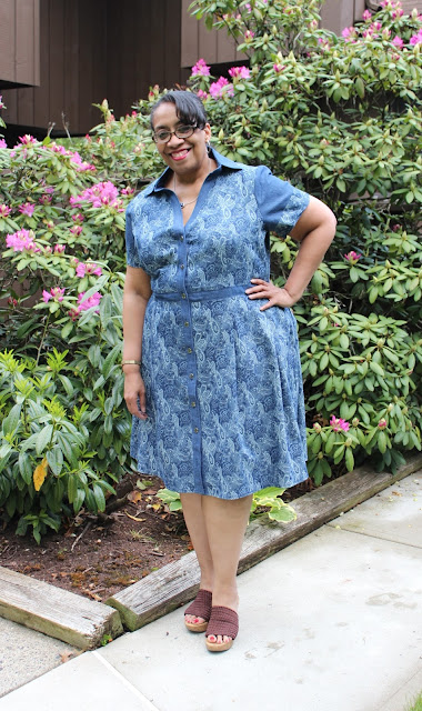 5433184061f0e0 Cashmerette Patterns addresses all of my needs for a shirtdress in a  pattern without a million and one pattern alterations. Believe me