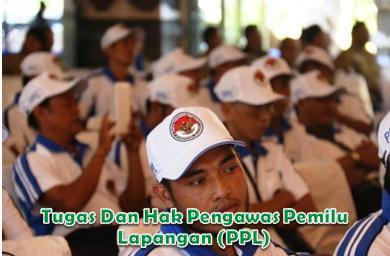 Tugas Dan Hak Pengawas Pemilu Lapangan (PPL)