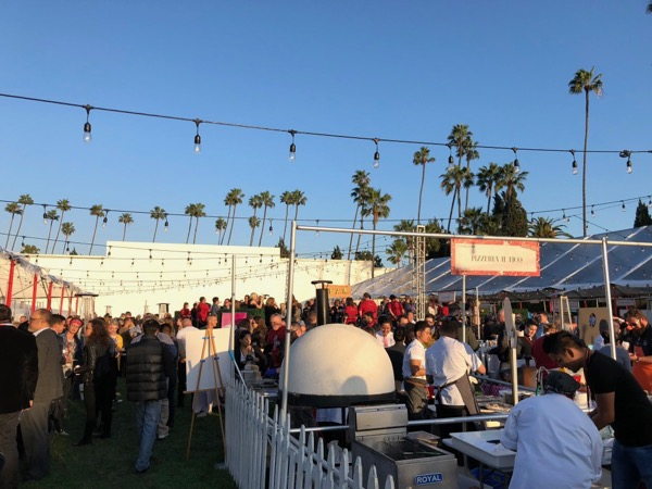 Simply Divine food wine event Hollywood Forever