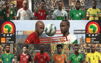 PES 2018 CAF PATCH FOR PC AND PS4