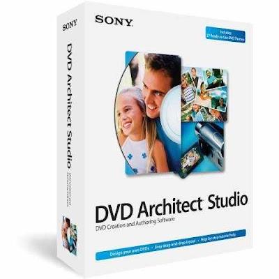 برنامج VEGAS DVD Architect لانشاء فيديوهات الديفيدي