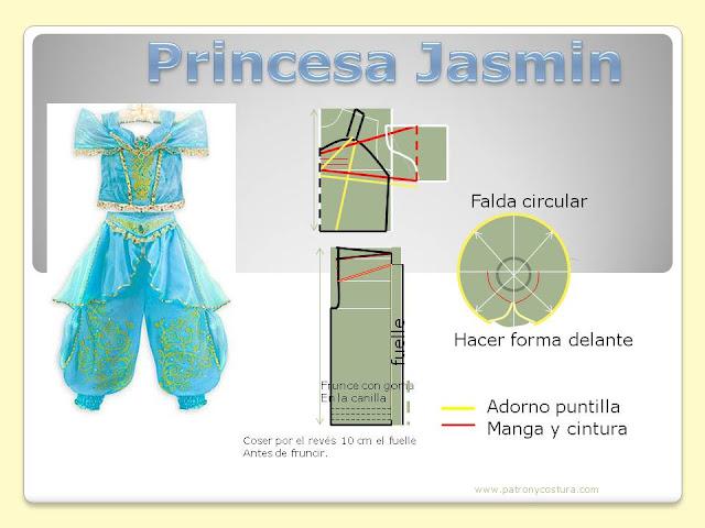 www.patronycostura.com/princesa Jasmindiy