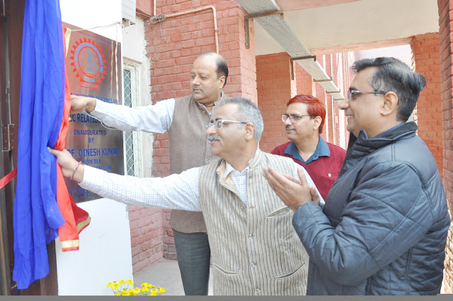 Vice President Dinesh Kumar inaugurated the updated public relations office