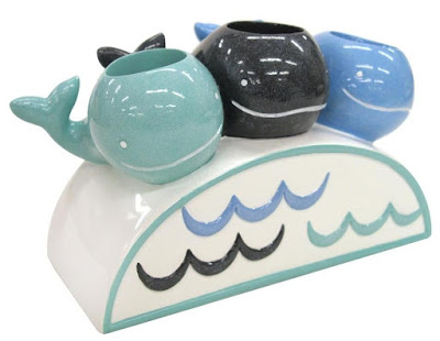 Whale Watch Toothbrush Holder
