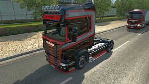 Scania RJL Black Knight skin