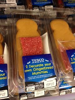 tesco gingerbread mummy
