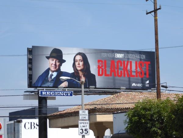 Blacklist 2016 Emmy 2016 billboard