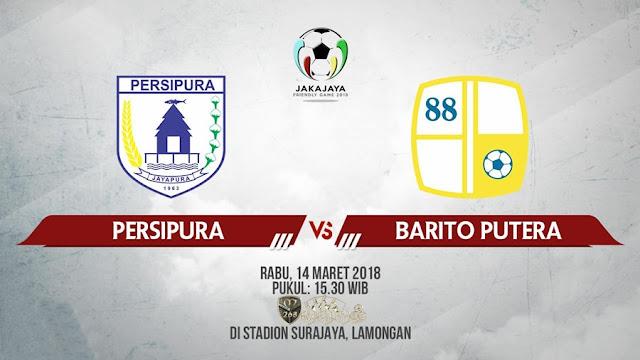 Prediksi Persipura Jayapura Vs Barito Putera, Rabu 14 Maret 2018 Pukul 15.30 WIB