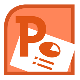 Power Point Logo Folder Icon