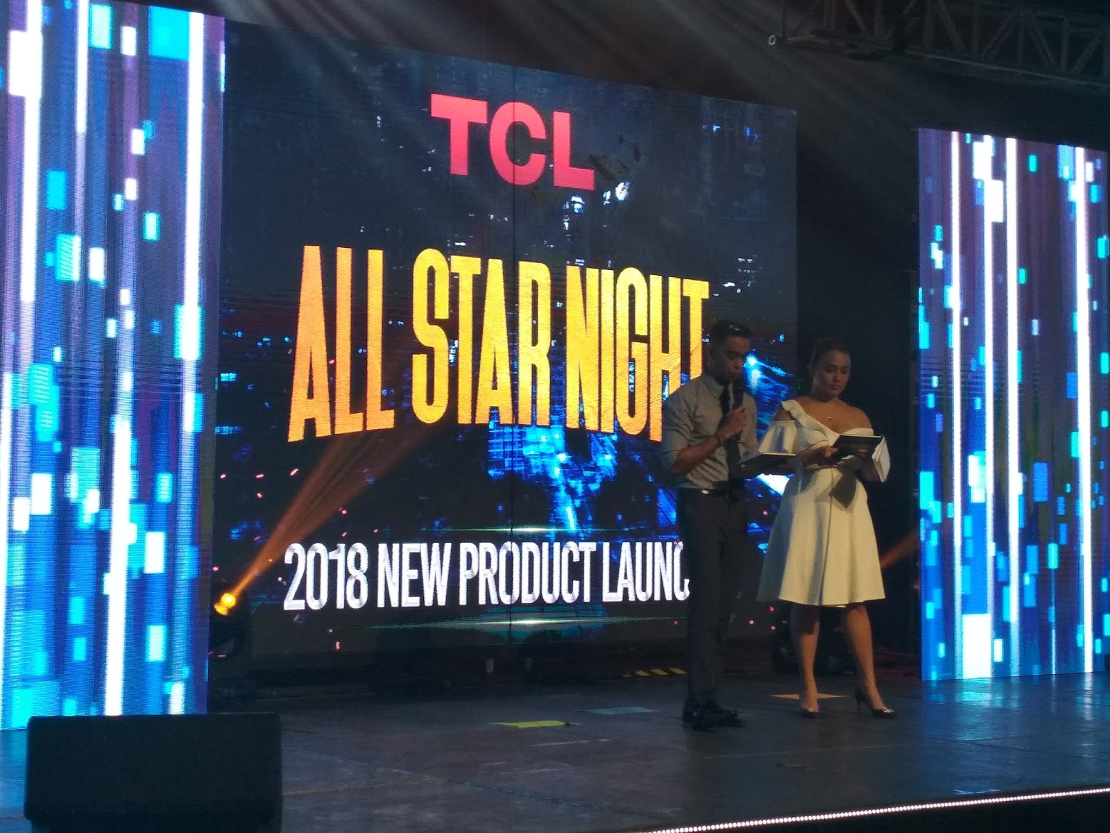 TCL Philippines Unveiled their All-Star Product Duo for 2018