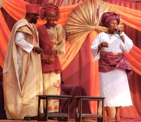 kunle afolayan traditional wedding