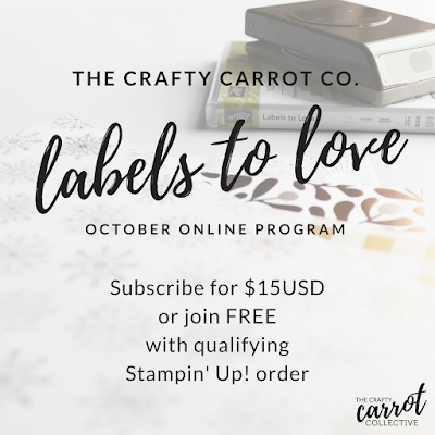 The Crafty Carrot Co. October Program - subscribe today!