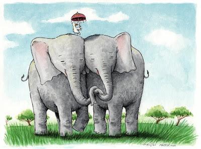 http://www.markix.net/artwork/elephants.html