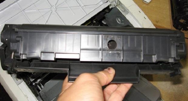 Cara Mudah dan sederhana Mengisi (Refill) Cartridge Hp Laserjet bertipe 1020