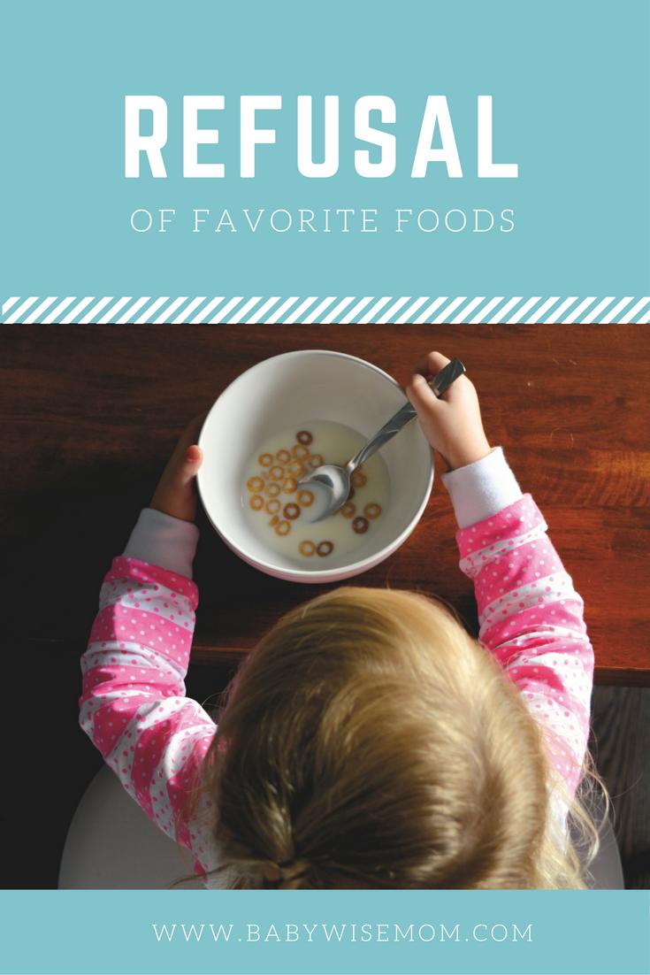 Refusal of Favorite Foods