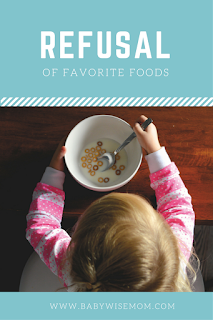 Refusal of Favorite Foods
