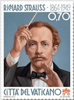 Resultado de imagem para selo de Richard Strauss,