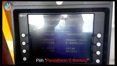 Daftar e-Banking
