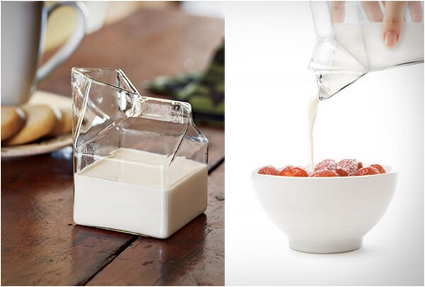 creative milk pot