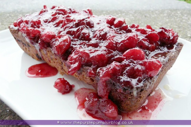 Cranberry, Almond & Orange Fruit Loaf | The Purple Pumpkin Blog