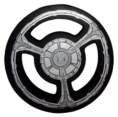 This holey new Star Trek frisbee is available from the StarTrek.com shop, and strangely enough is the second Trek-themed frisbee just this year, ...